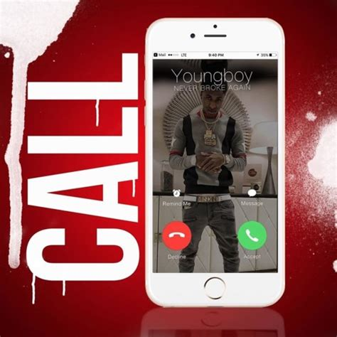 youngboy never broke again phone case single nba youngboy quot call on me quot realrappromo