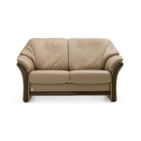 low loveseat alfa low back stationary two seat loveseat by fjords 414002