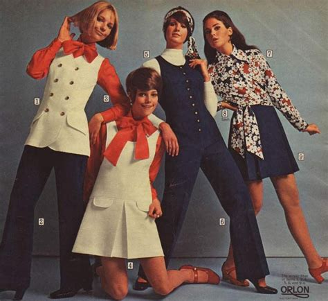 8 Fashion Trends Best Suited For The by 1960s Fashion For 60s Fashion Trends
