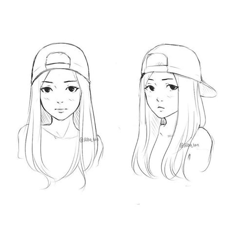 Doodle Hat B doodle drawings hat drawing tips