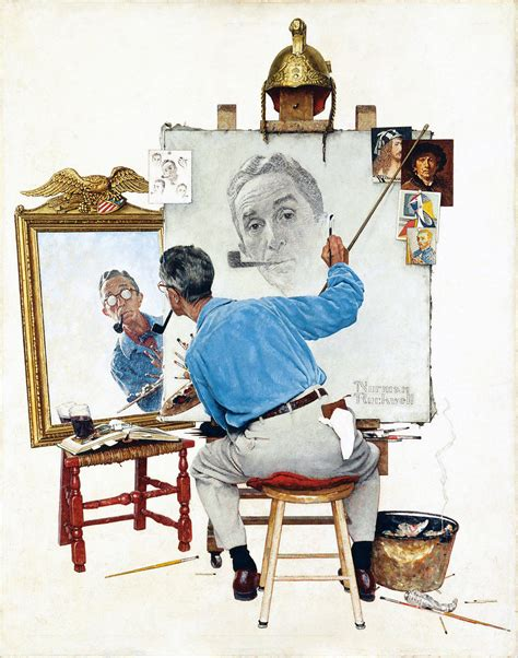 biography norman rockwell family of norman rockwell angered over conclusions drawn