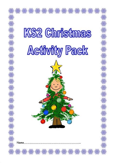 eyfs ks1 ks2 sen christmas worksheets and activities