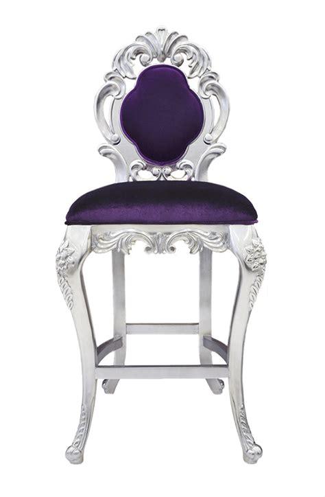 bar stools purple colette modern bar stool purple velvet