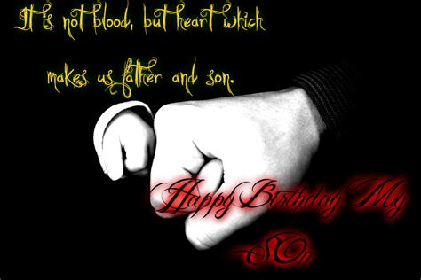 Happy Birthday Wishes For On Happy Birthday Son Wishes Quotes Wallpapers From Dad