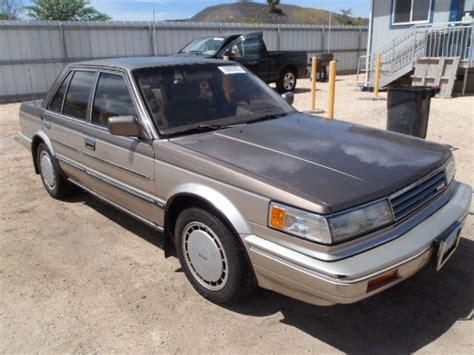 1987 Nissan Maxima For Sale 1987 Nissan Maxima For Sale In Hi Kapolei Lot 20929203