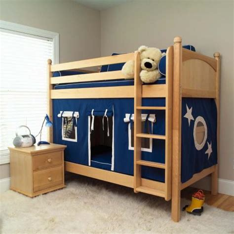 kids fort bed play fort bunk bed by maxtrix kids blue white