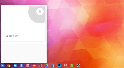 ok open chrome os to let you open apps by voice omg chrome