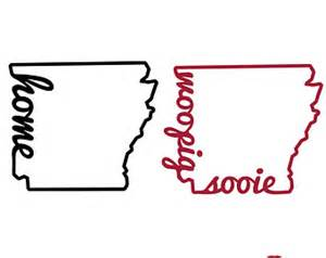 Arkansas Outline Vector by Items Similar To Woo Pig Sooie Monogram Houndstooth Arkansas Razorback Dress On Etsy
