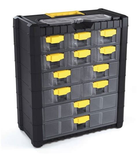 Small Tool Box With Drawers by Tool Box Hobby Small Parts Storage Organizer Cabinet Tool