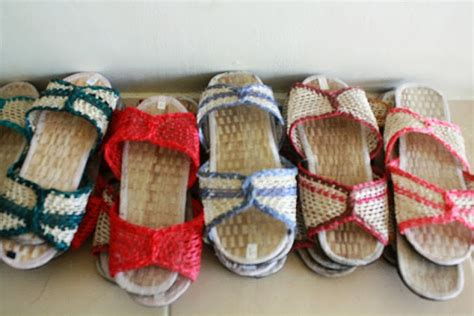 abaca slipper tagaytay retreat center shoes