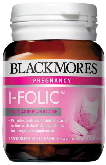 Blackmores Supplement Pregnancy And blackmores i folic reviews productreview au