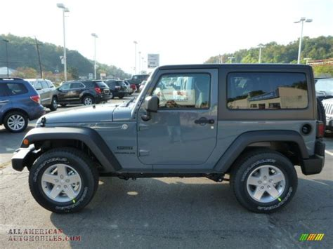 anvil jeep wrangler 2014 jeep wrangler sport 4x4 in anvil photo 2 138225