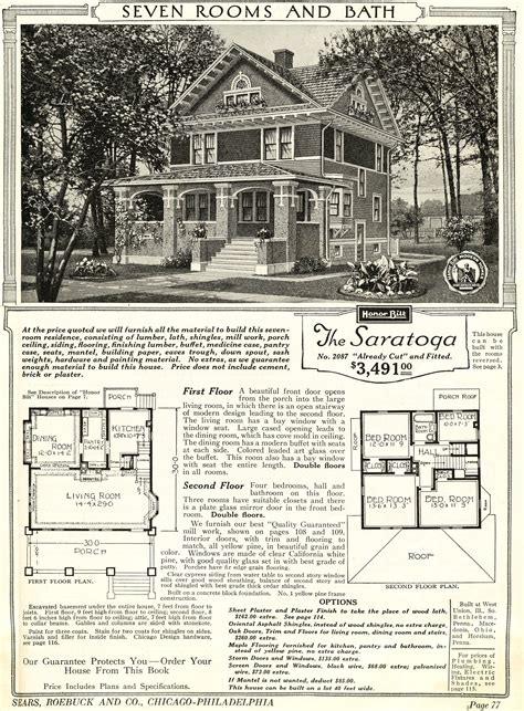 sears catalog homes floor plans houses by mail on route 66 oklahoma houses by mail