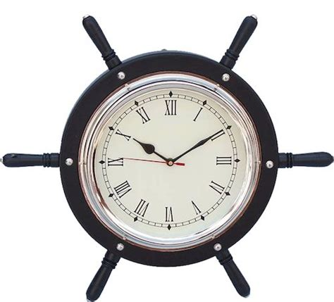 chrome theme clock 1000 images about nautical decor clocks for sale on