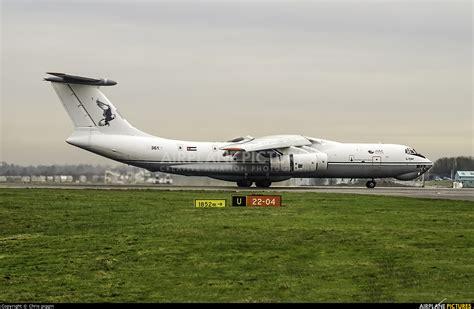 jy jid jordan international air cargo ilyushin il   models  london stansted photo