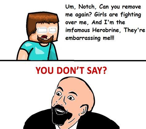 Minecraft Herobrine Memes - minecraft herobrine mod memes
