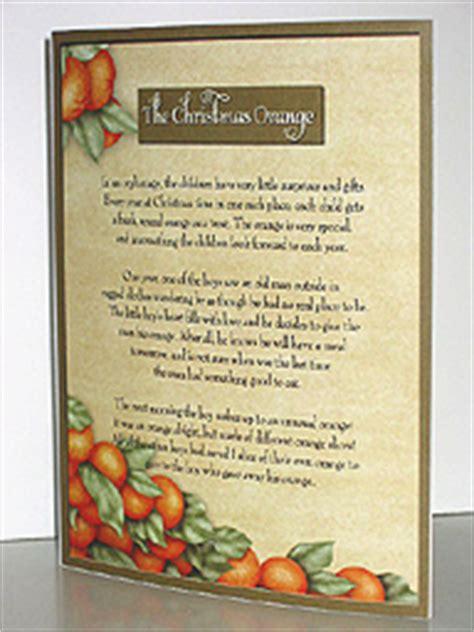 Printable Christmas Orange Story | the christmas orange