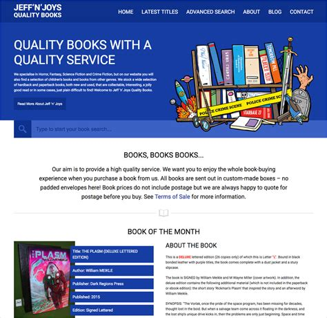 quality picture books jeff n joys quality books projects web developer
