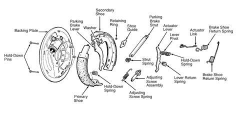 diagrahm  picture   rear brake shoe system    chevrolet  pickup