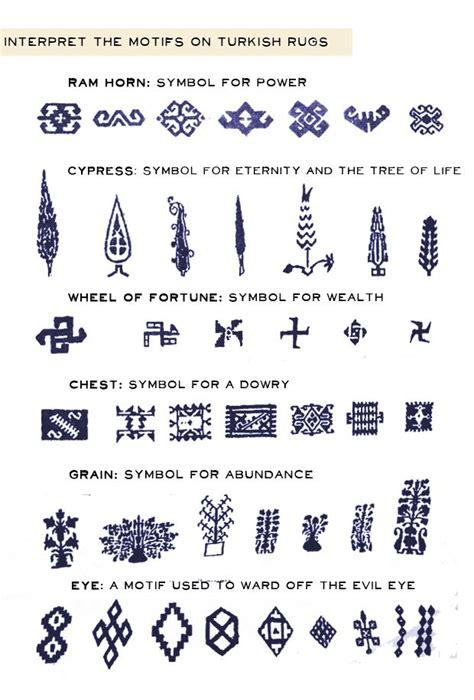 language pattern meaning some common turkish rug symbols oriental rugs
