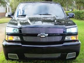 03 07 04 05 chevy silverado ss bumper center billet grille