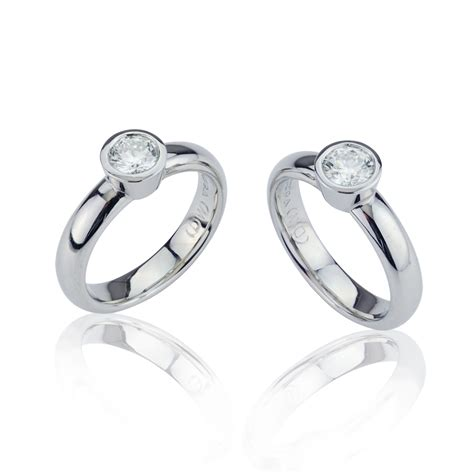 matching platinum engagement rings dominic walmsley