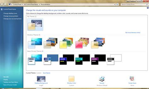 Windows 7 Themes Change Pictures   change windows theme how to change windows 7 vista xp