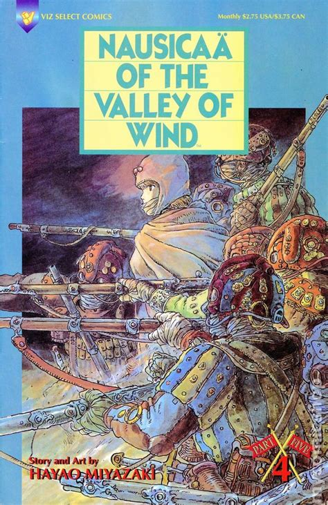 nausicaa of the valley of the wind nausicaa of the valley of wind part 5 1995 comic books