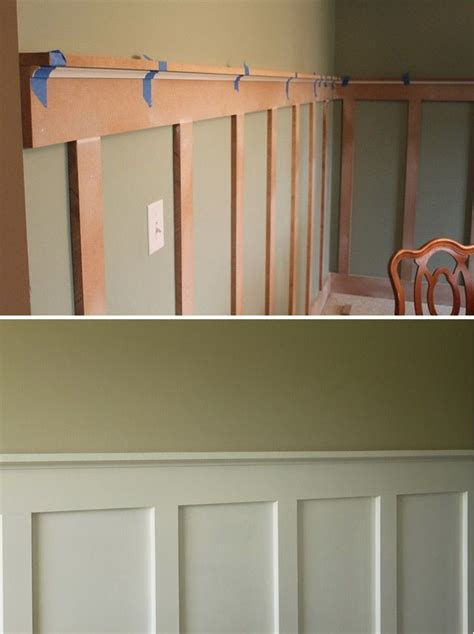 cheap chair rail ideas best 25 faux wainscoting ideas on dining room