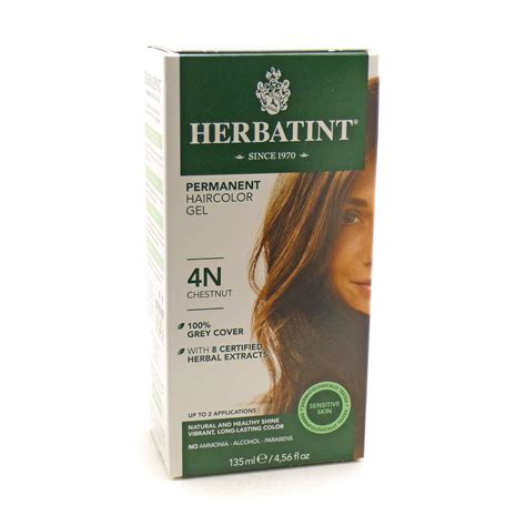 herbatint hair color herbal hair color 4n chestnut by herbatint hair products