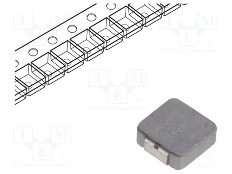 vishay smd inductor ihlp2020czer1r5m11 vishay inductor wire tme elektroninės detalės