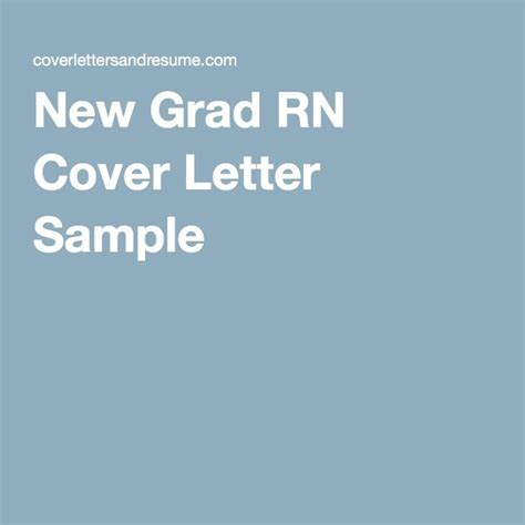 new grad rn cover letter ideas collection nurse example recent ob