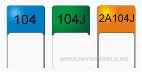 capacitor 100nf como identificar como se leen los valores de los capacitores inventable
