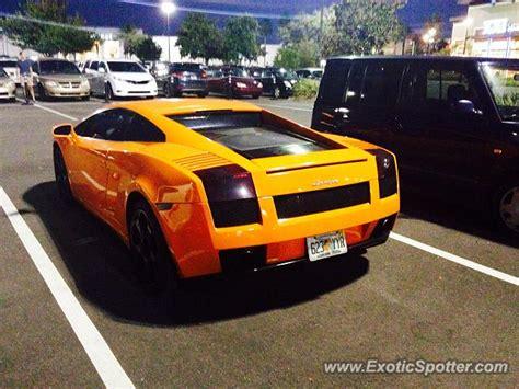 Orlando Lamborghini Lamborghini Gallardo Spotted In Orlando Florida On 01 02 2014