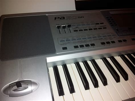 Keyboard Korg Pa50sd Second korg pa50sd image 280792 audiofanzine