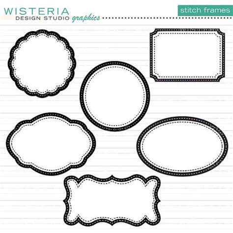 decorative borders for name tags 17 best images about die cut tags decorative shapes and
