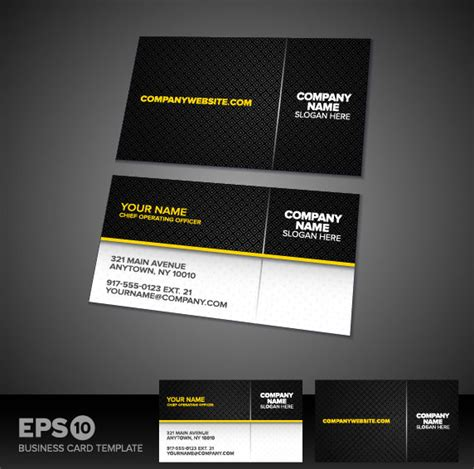 free vector business card templates business card templates vector free vector in encapsulated