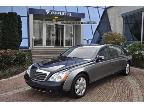 how to work on cars 2005 maybach 62 on board diagnostic system 2005 maybach 62 5 5 v12 automaat car photo and specs