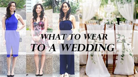 Wedding Attire As A Guest by What To Wear To A Wedding Wedding Guest Attire