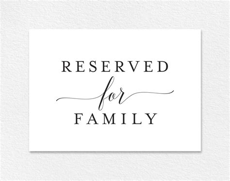 reserved table cards template printable reserved sign etame mibawa co