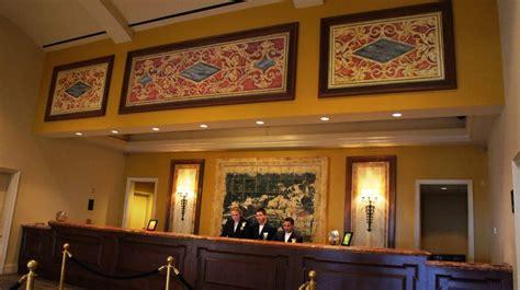 paramount bay front desk loews portofino bay hotel public spaces harbor piazza