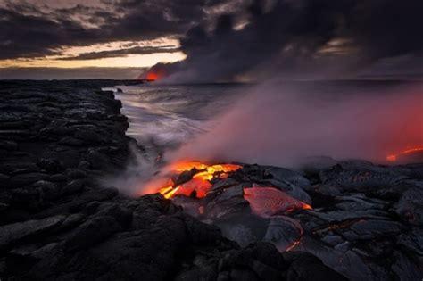 Lava L L by Lorsque La Lave Du Volcan Rencontre L Oc 233 An Par Tom Kualii