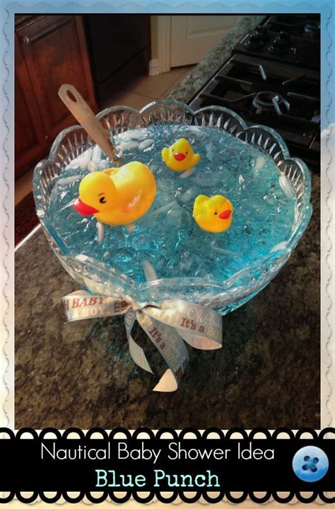 Baby Shower Blue Punch by It S Ducks N Cold Blue Punch Babyshower