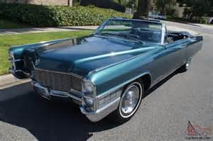 65 Cadillac Convertible Cadillac Eldorado Eldorado Convertible I Of 2 125