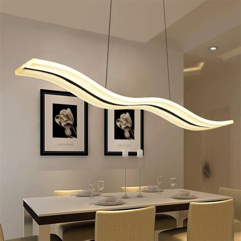 16 Wonderful Modern Led Dining Room Light Fixtures Unique Dining Room Lighting Fixtures