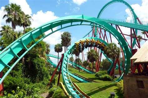 theme park with most roller coasters roller coaster amusement park fun rides 1roll adventure