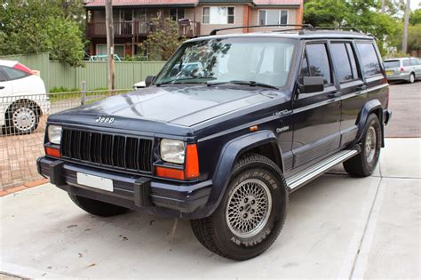 Jeep Limited 1995 chaos of the road used car review 1995 jeep