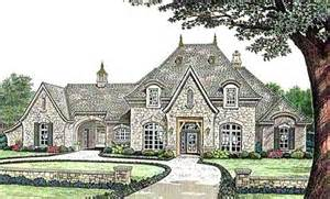 French Country Style House Plans by French Country Style House Plans 4182 Square Foot Home