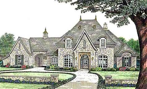 french style home plans french country style house plans 4182 square foot home