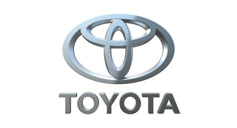 toyota logos toyota logo 3d model